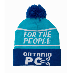 ONTARIO PC and FOR THE PEOPLE Toques