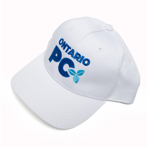Ontario PC Ball Caps (WHITE)